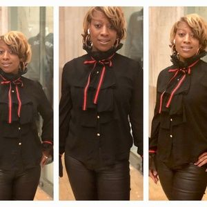 Buttons & Bows Gucci Inspired Blouse